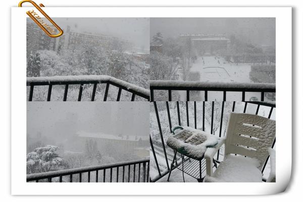 巴黎那短暫的雪