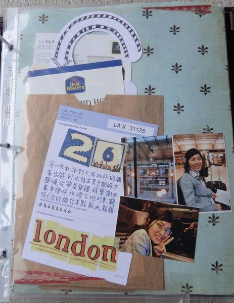 2010 倫敦行 (1) 之差點去不了