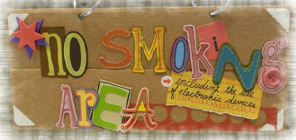 【職場閒聊】請勿抽菸