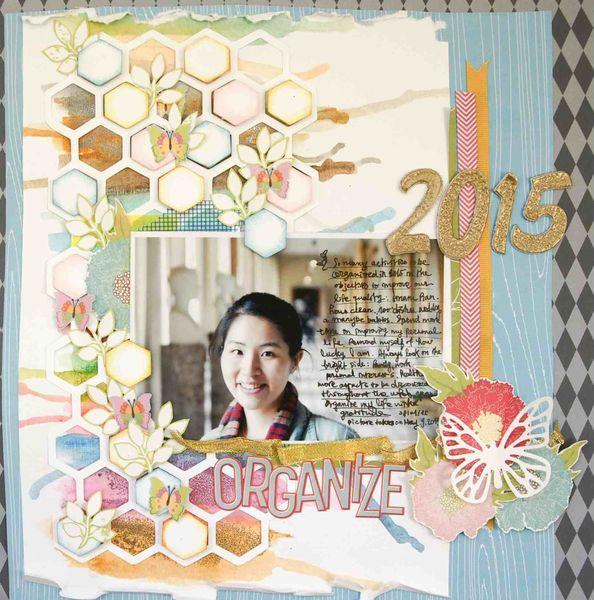 【12×12】 2015 Organize