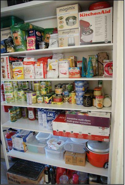 靈機一動 : 整理廚房櫥櫃