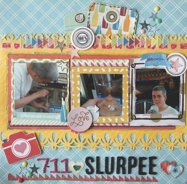 Sketch N Scrap / 7-11 SLURPEE