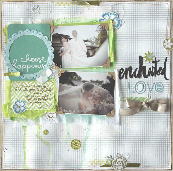 Kelly's Moon Board / Enchanted Love