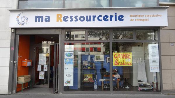 法國機構 Ma Ressourcerie 廢物利用 增加就業機會