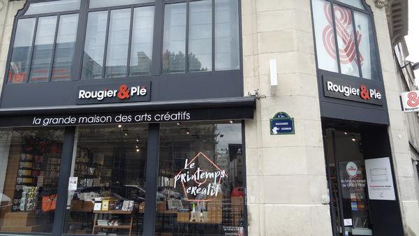 巴黎六區我常去的美術社 Rougier et Plé