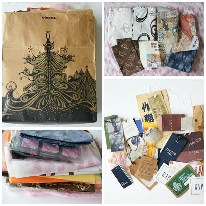 從日本空運來法 免費裝飾 日式包裝紙 愛死了