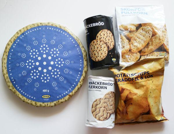 Ikea 北歐食物 早餐點心 兩相宜