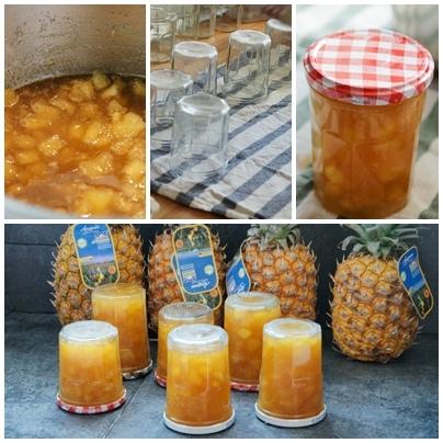 【食譜】鳳梨果醬輕鬆做
