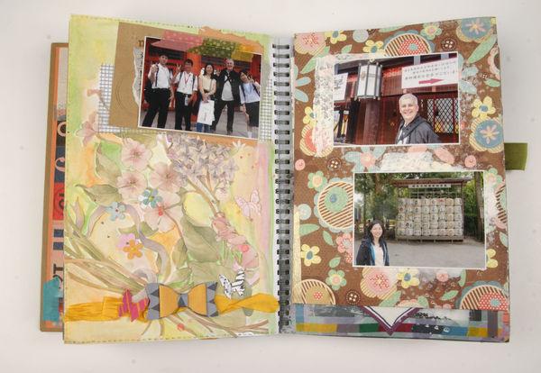 【2014日本遊相本 17】上賀茂神社 接受日本中學生的簡單訪問