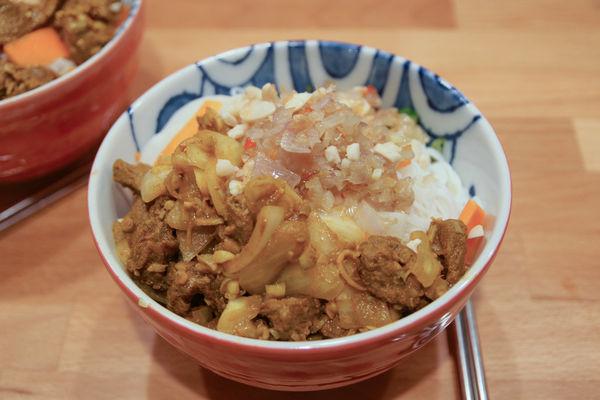 【食譜】香茅牛肉米粉 Bo Bun
