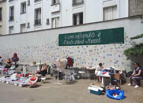 【巴黎13區】主打小孩物品的跳蚤市場