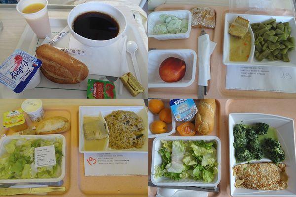法國早產紀錄 (四) 法國公立醫院自然產飲食