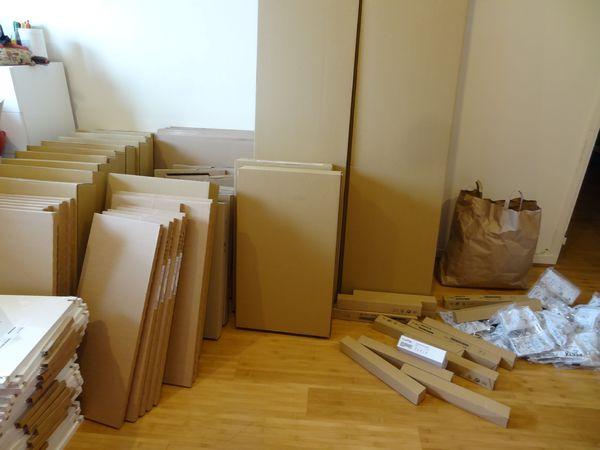 【居家改裝】IKEA 送貨到家。組嬰兒床
