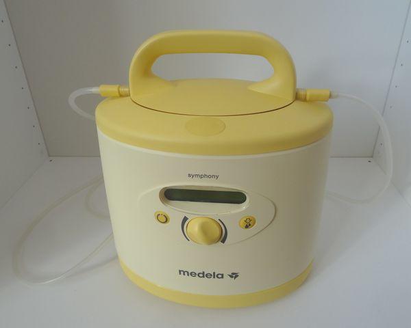 法國早產紀錄 (七) 免費租借 Medela Symphony 電動雙邊吸乳器 擠奶心路歷程