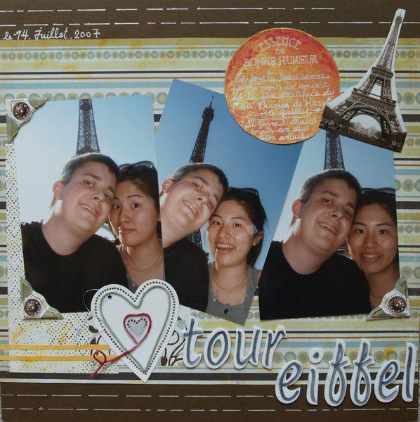 【12×12】Tour Eiffel 2007