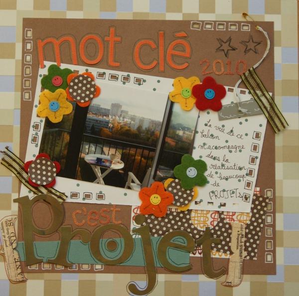 """【12×12】Mot Clé 2010, c'est """"Pojet"""""""