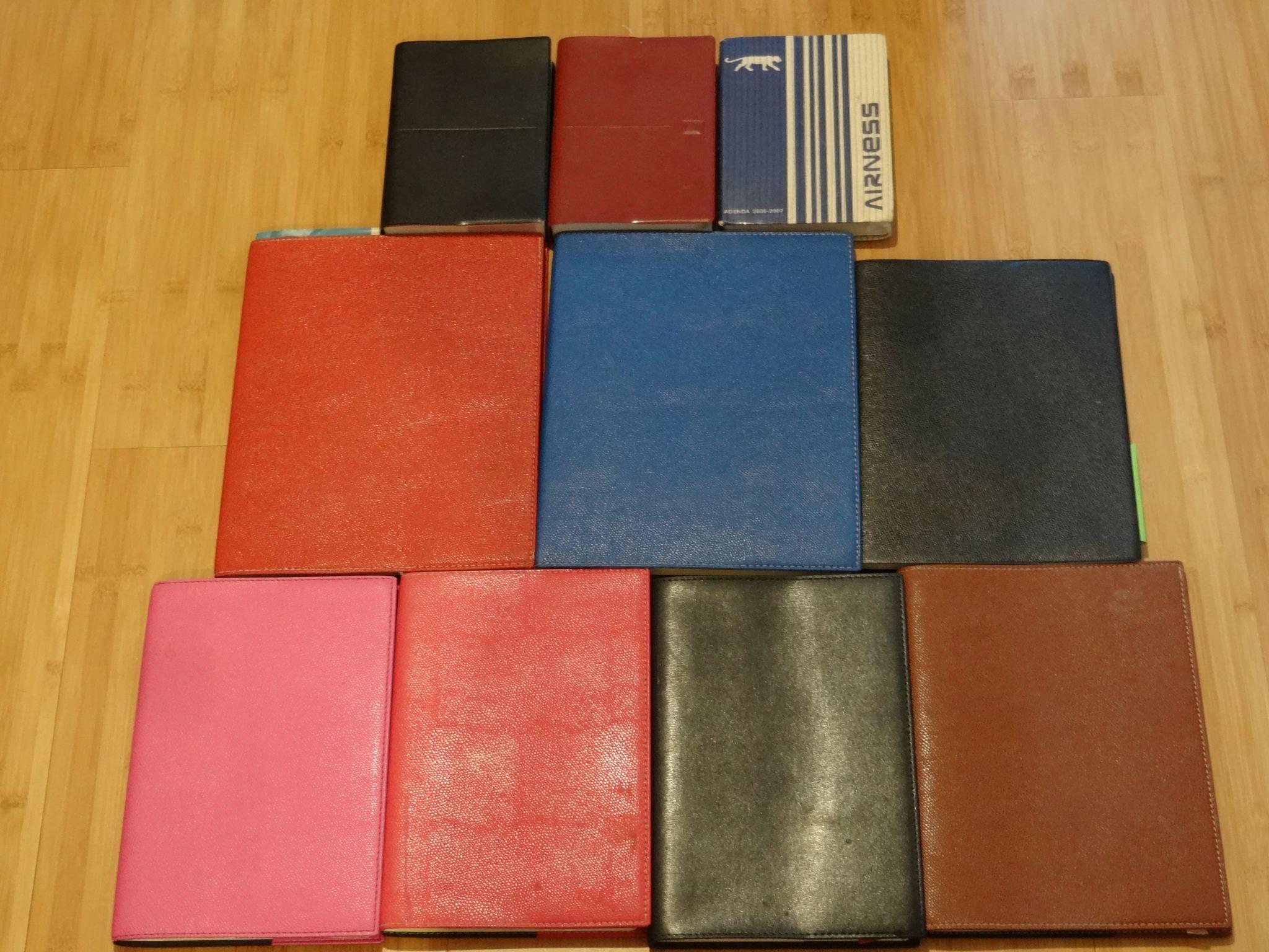 那些年在法國的十本手帳