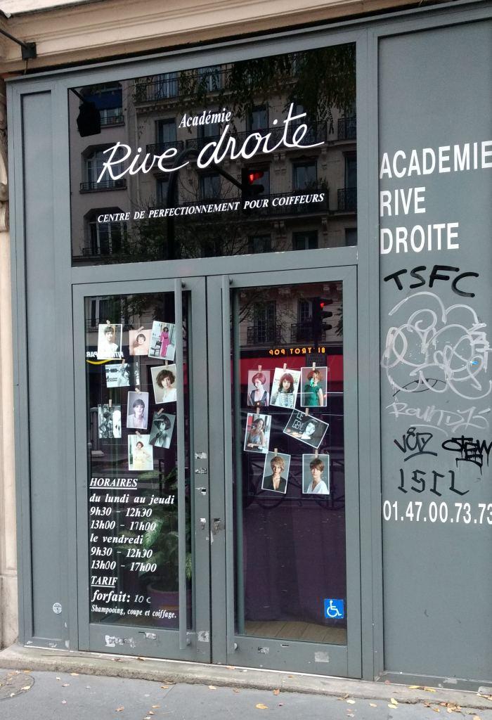 巴黎便宜髮廊經驗分享 日籍美髮師 洗剪吹只要十歐元