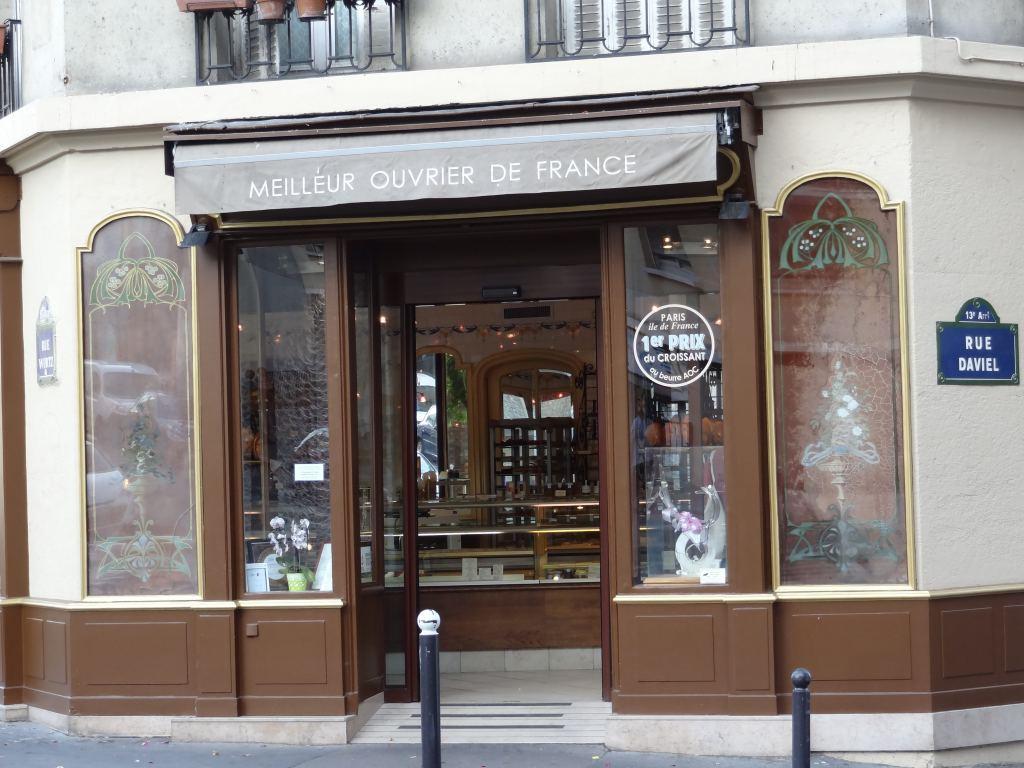 【巴黎13區吃】Laurent Duchêne 巴黎第一名可颂 MOF甜點
