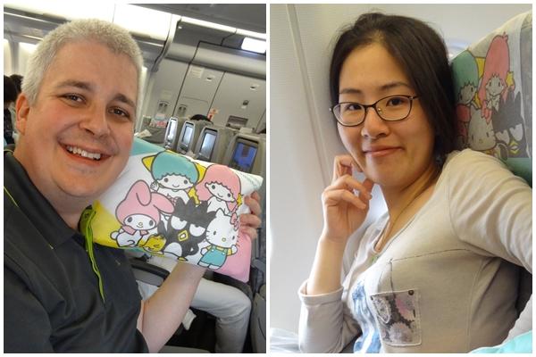 【日本關東】行前準備 長榮 Hello Kitty 機搭不停