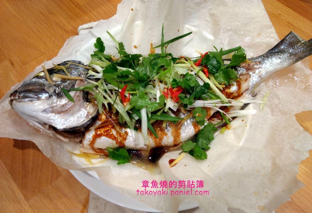 【食譜】金頭鯛蒸魚配中式醬汁 Daurade Royale à la cantonaise