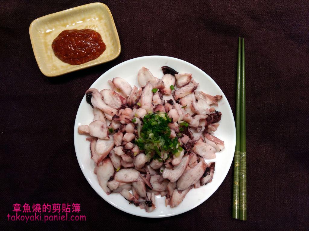 【食譜】五味川燙章魚腳