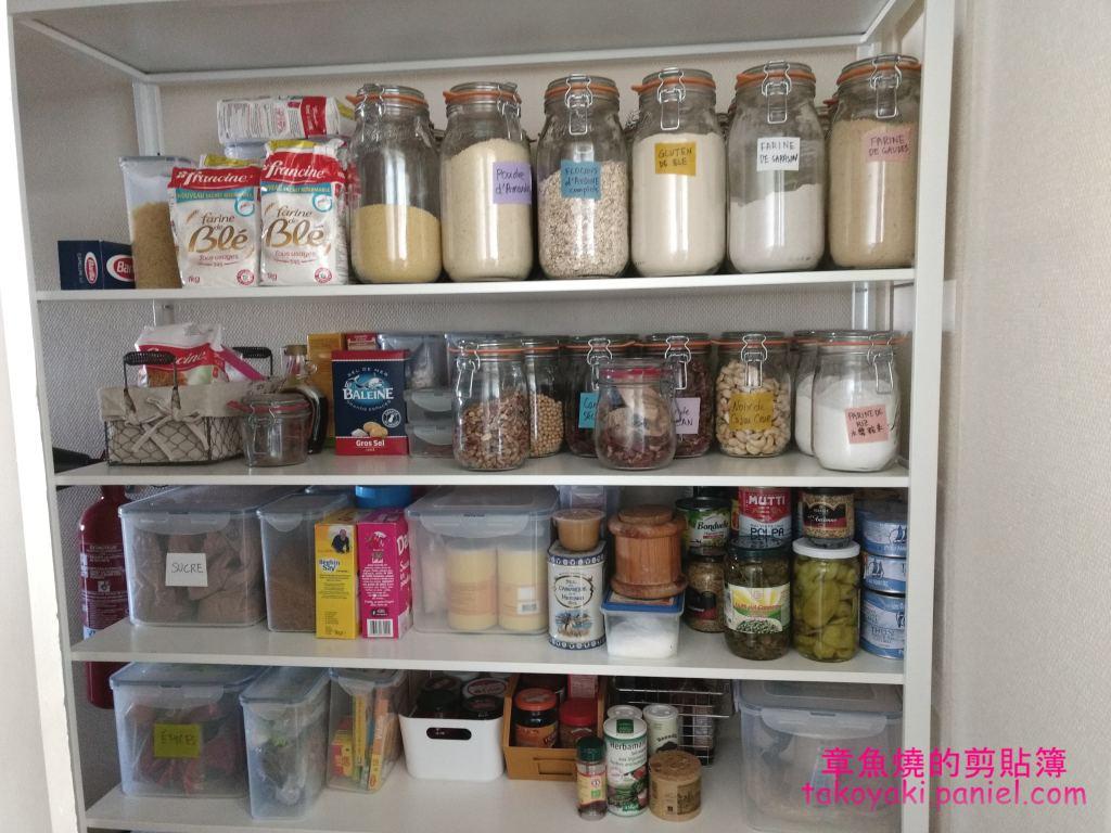 打造令我怦然心動的廚房食物架