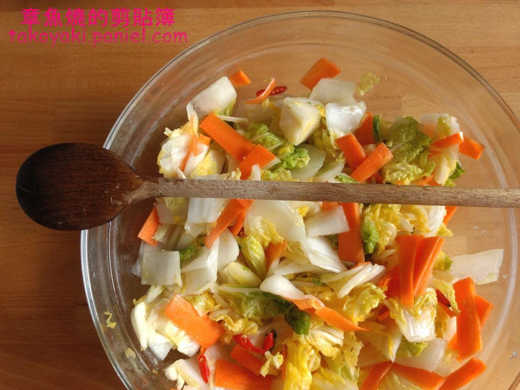 【食譜】酸甜台式泡菜