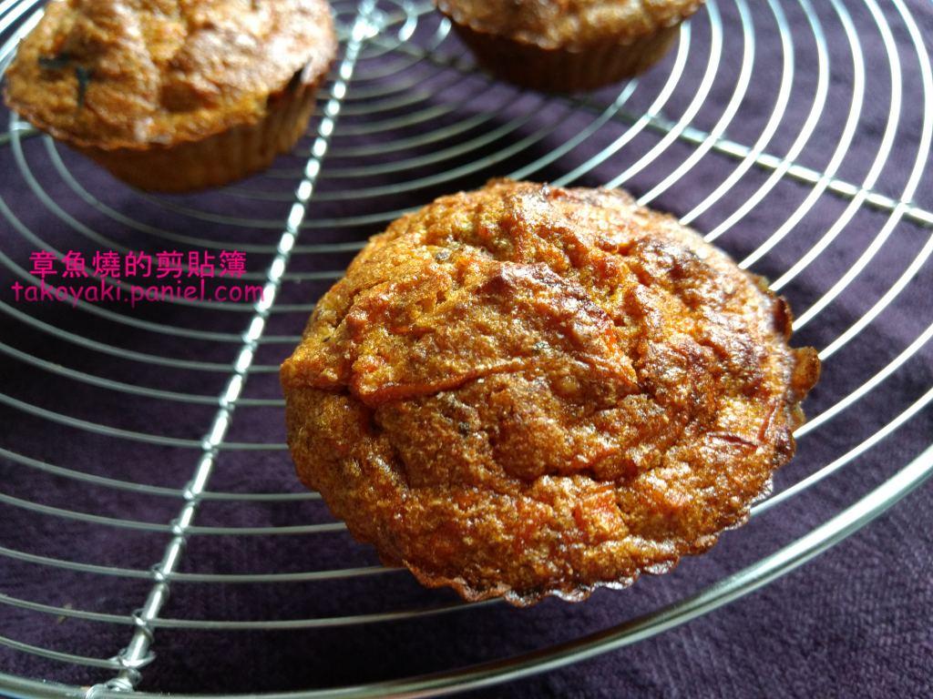 【食譜】紅蘿蔔蛋糕 Carrot-cakes