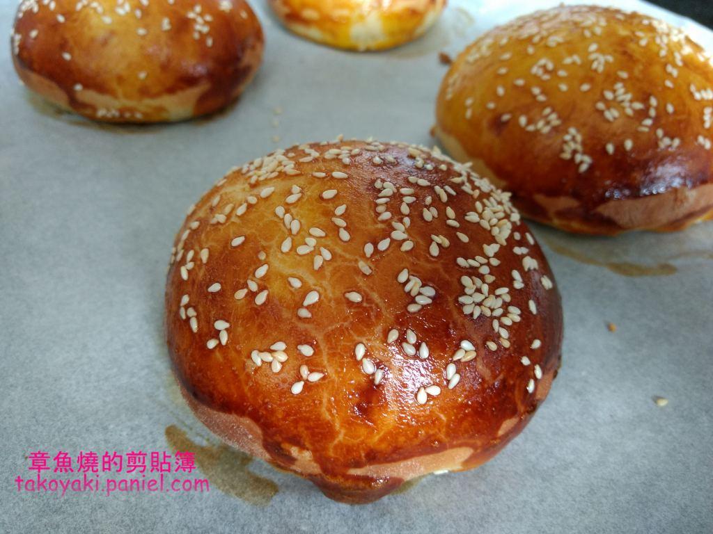【食譜】漢堡餐包 低筋麵粉版