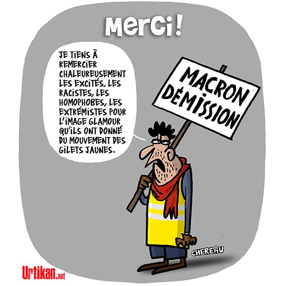 【法國黃背心之亂看法3】暴力行為背後,極左極右派的伸展舞台