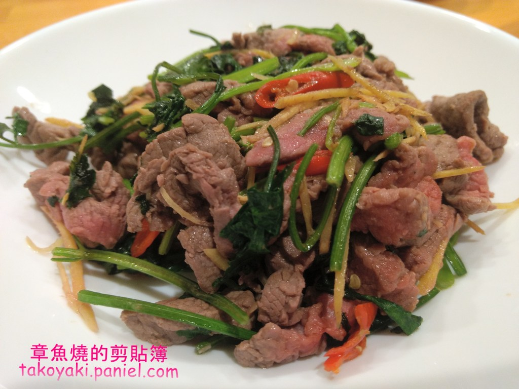 【食譜】香菜炒牛肉