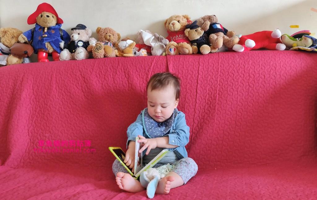 【勇哥週記 55】一歲八個月 母子倆的一天