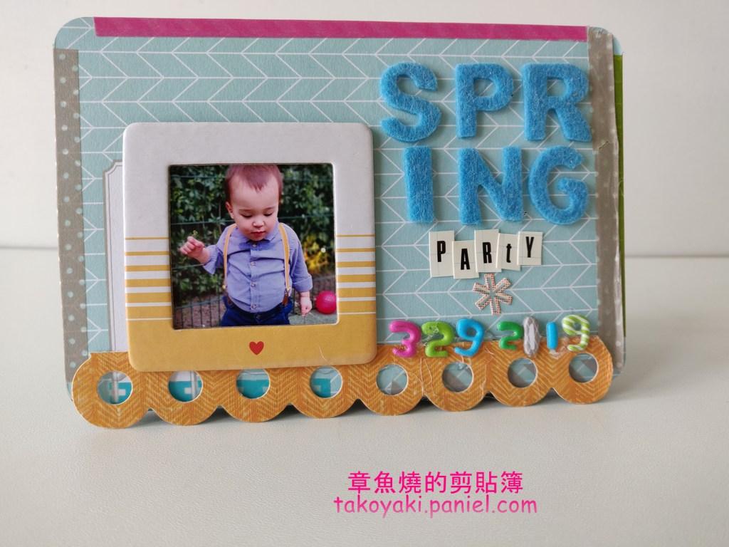 生活紀錄卡小相本 Spring Party