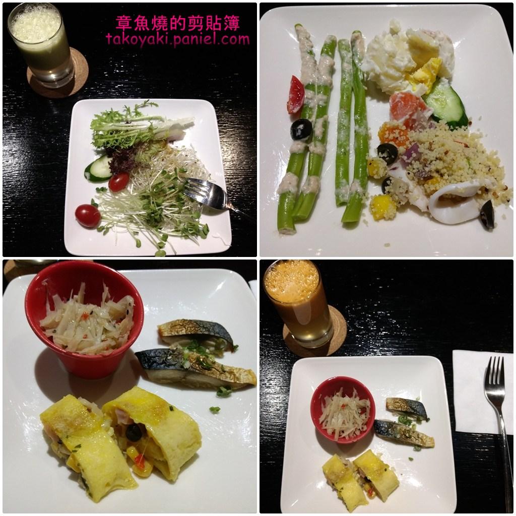 台北華泰瑞舍公寓式飯店 兩週住宿心得(3)巧而美的優閒自助早餐