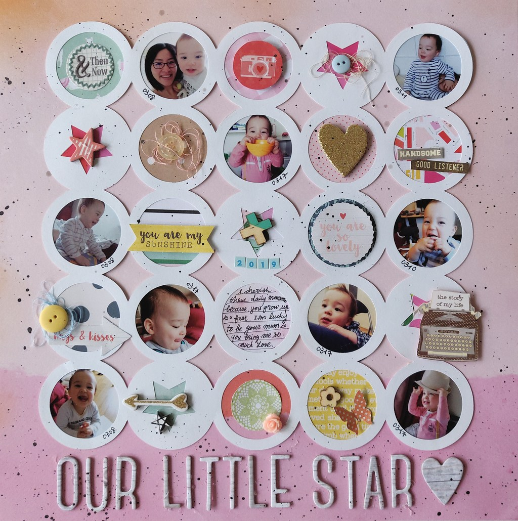 【12×12】Our Little Star