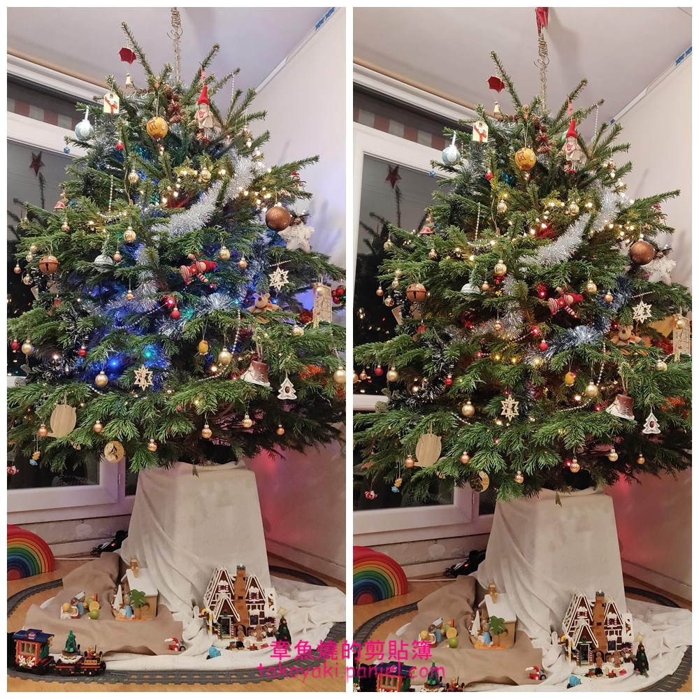 2020 和孩子一起裝飾的聖誕樹